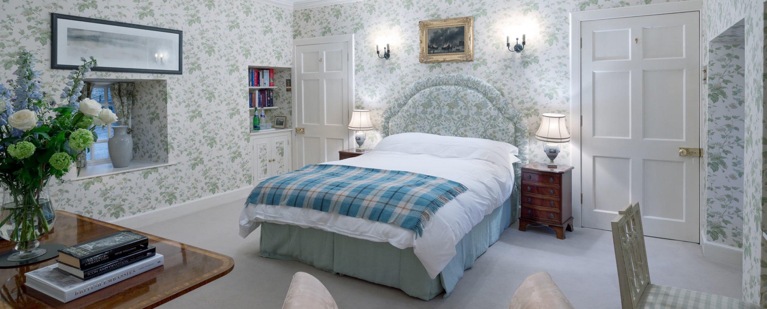 Ferniehirst Castle - Bothy Master Bedroom