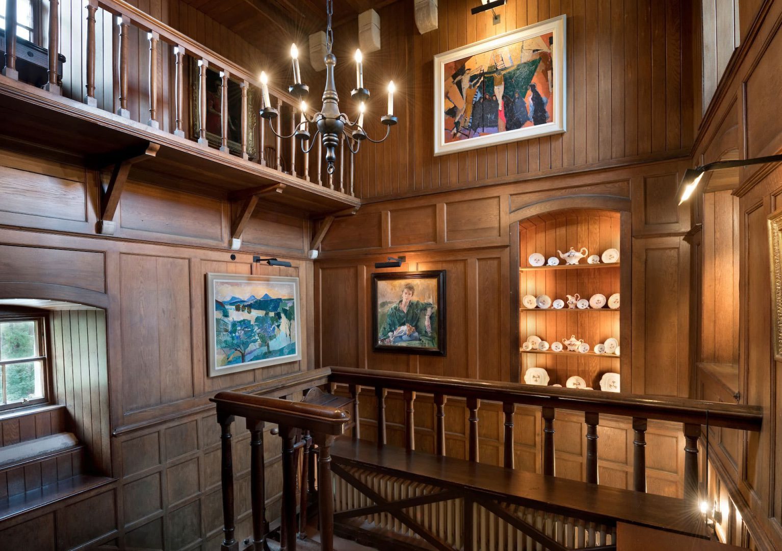 The Gallery - Ferniehirst Castle, Scotland