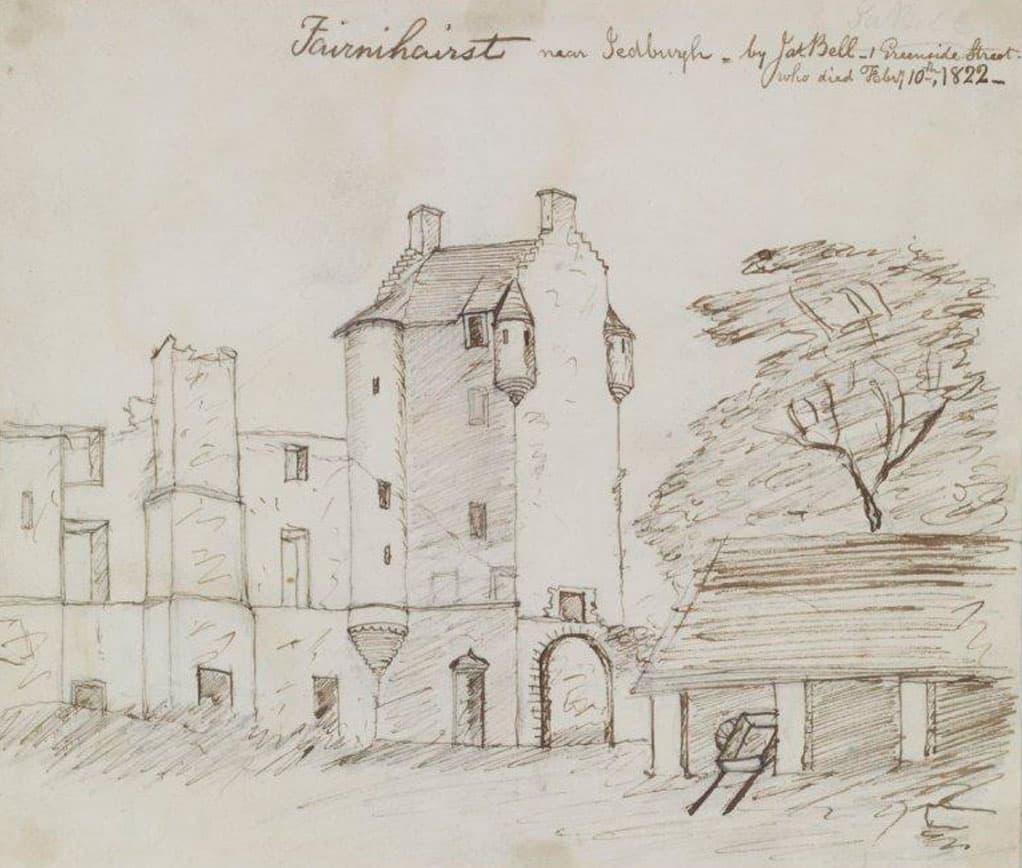 Ferniehirst Castle 1822