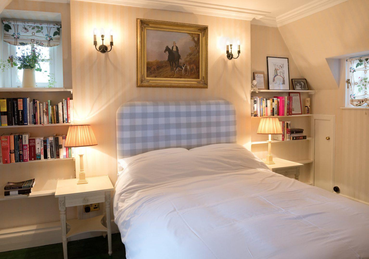 Upper Bothy Bedroom Ferniehirst Castle